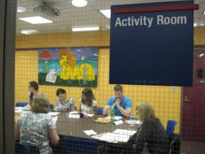 1-Group in Activity Room
