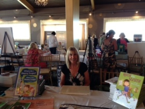 Me at New England Author's expo