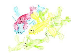 Drawn by William, age 7