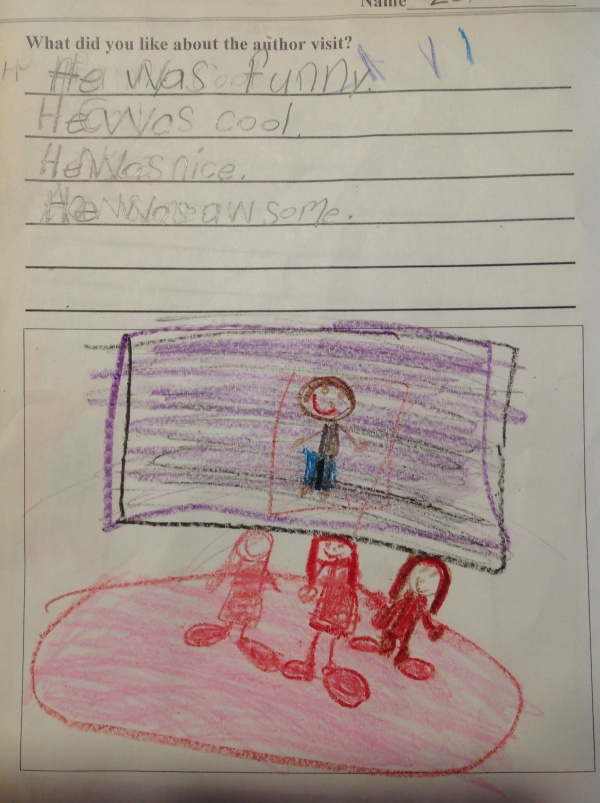 From Lewis and Clark Elementary in North Dakota