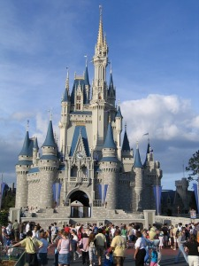 Castle at Disney World