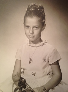 My mother, age 8.