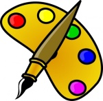 painter-color-palette-with-brush-cartoon-clip-art