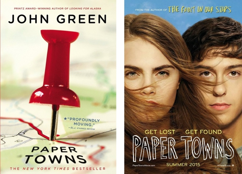 john green paper towns plot