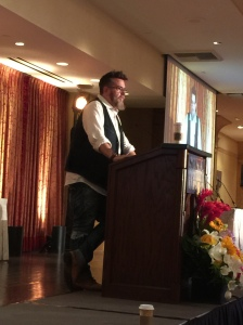 SCBWI L.A. celebrity sightings included Drey Daywalt (The Day the Crayons Quit) among many others