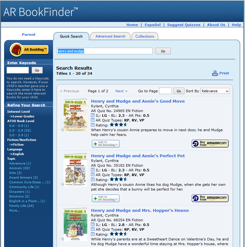 arbookfinder_quicksearchresults