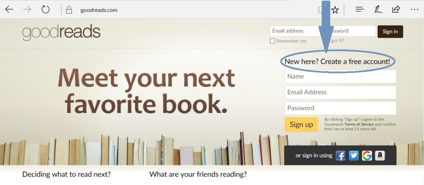 How to Use Goodreads – WRITERS' RUMPUS
