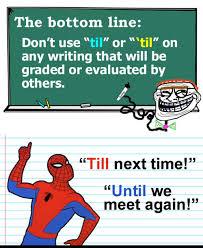 spiderman until