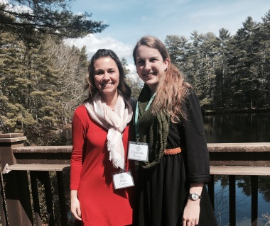 Us at Whispering Pines Writers' Retreat!