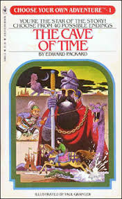 Choose Your Own Adventure book image