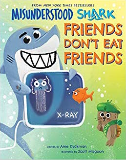 MISUNDERSTOOD SHARK FRIENDS DON'T EAT FRIENDS COVER