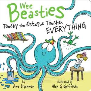 TOUCHY THE OCTOPUS COVER