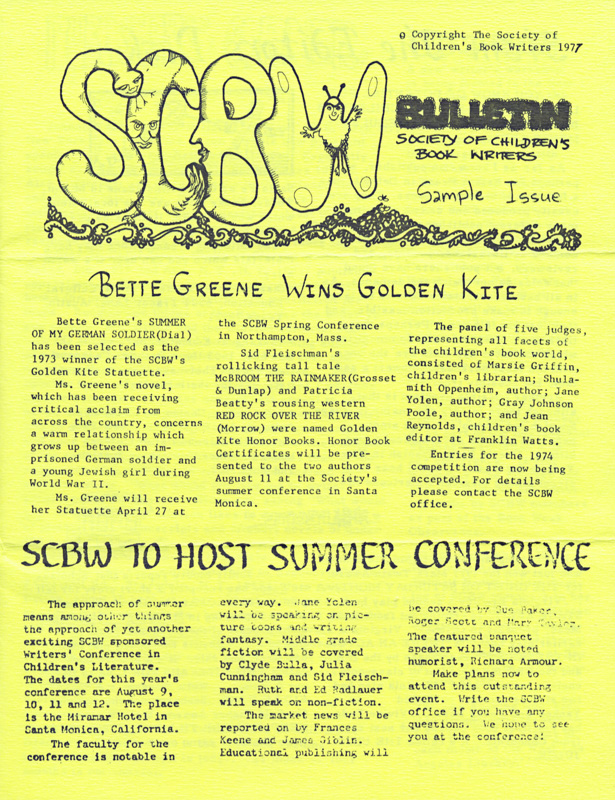 SCBW bulletin