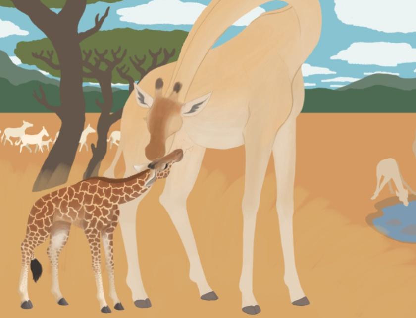 Wes- Giraffe Process Sample