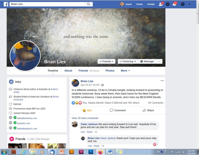 Brian Lies FB3