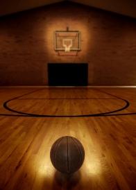 ball on court
